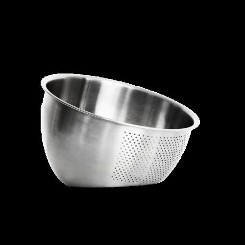 Double bottom wash rice basket