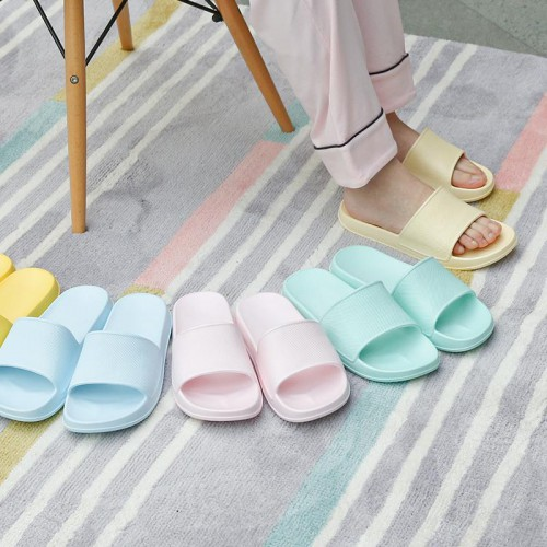 Fun rainbow seasons slippers
